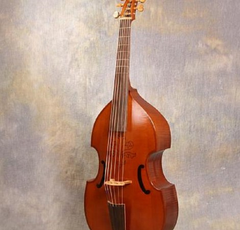 Six string bass viol after anon 1649