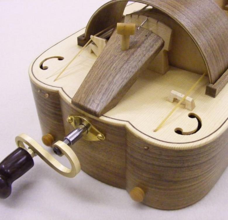 Renaissance hurdy gurdy