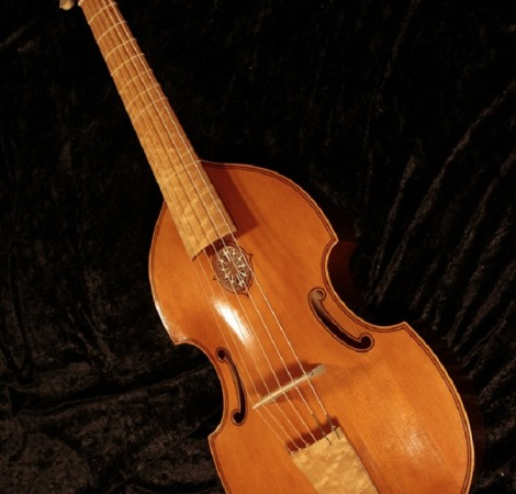 Six string bass viol after Henry Jaye 1649