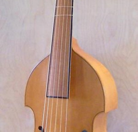 Small bass viol after Barak Norman